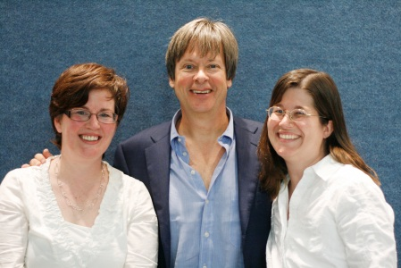 Sue, Dave Barry, and Susan