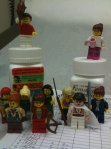 Lego Warrior Princesses go to the oncologist