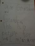 Widget's letter August 2011