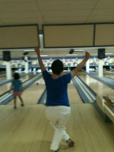 strike! at the bowling alley